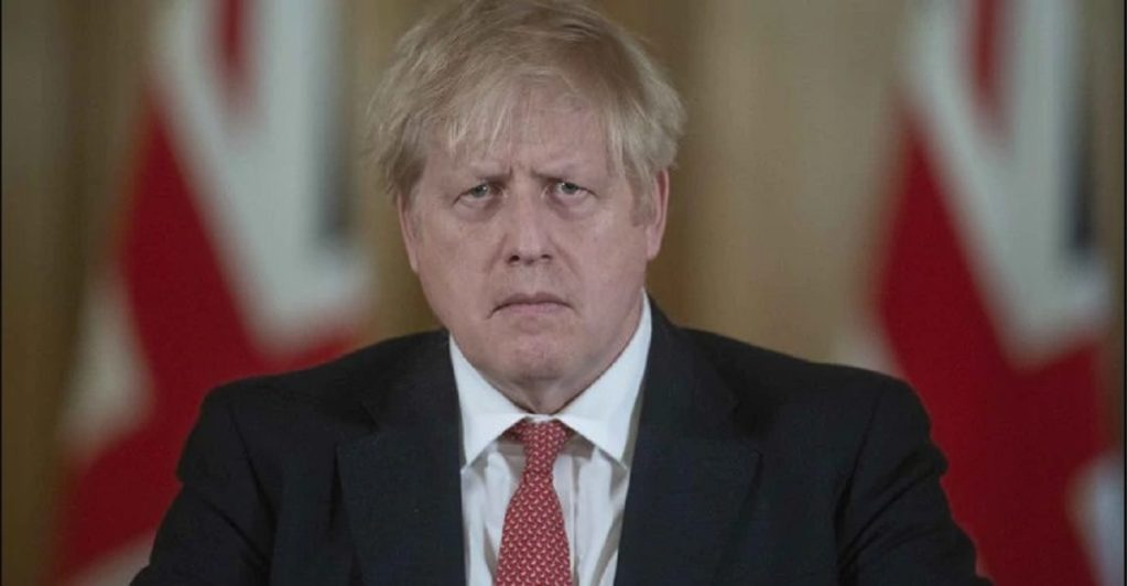 boris johnson positivo coronavirus