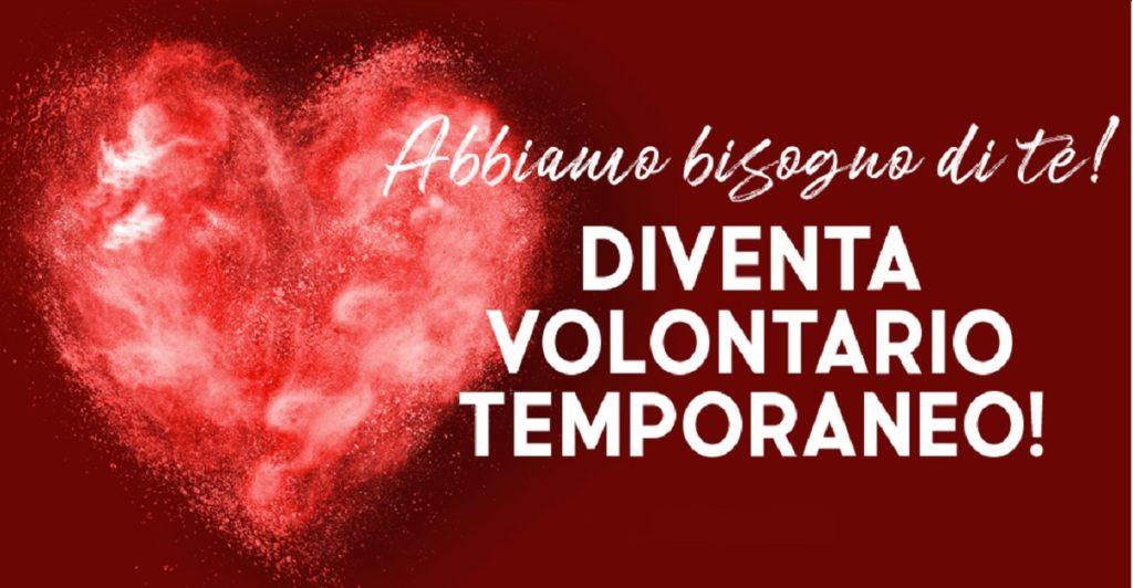 croce rossa italiana volontario temporaneo