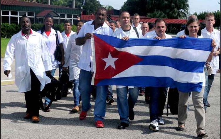 Coronavirus. Ai medici cubani arrivati in Italia diciamo grazie!