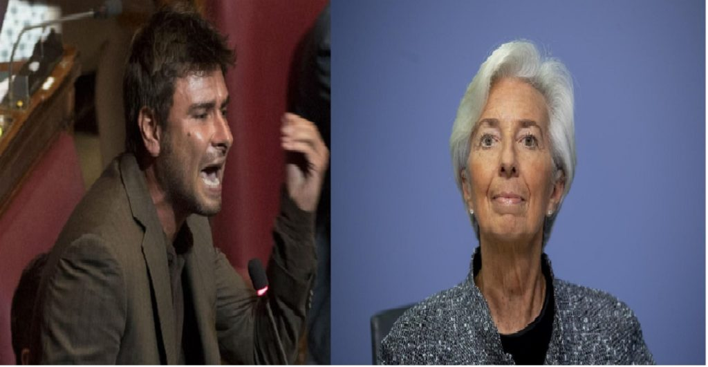 di battista contro Christine Lagarde
