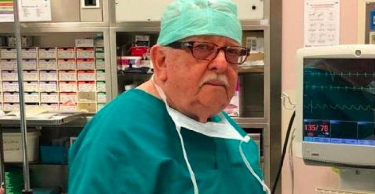 Coronavirus. Giampiero Giron, medico di 85 anni torna operativo