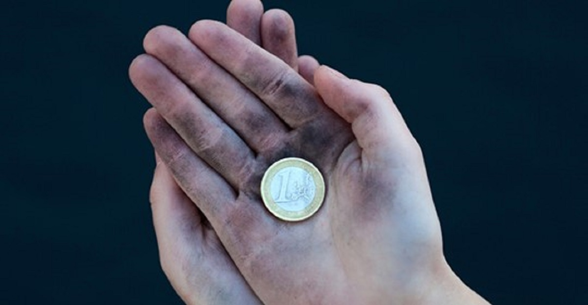 zona euro povera