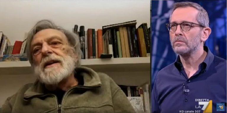 """Gino Strada:"""" In tempi come questi le fabbriche di armi sono aperte. E' un crimine sociale!"""""""