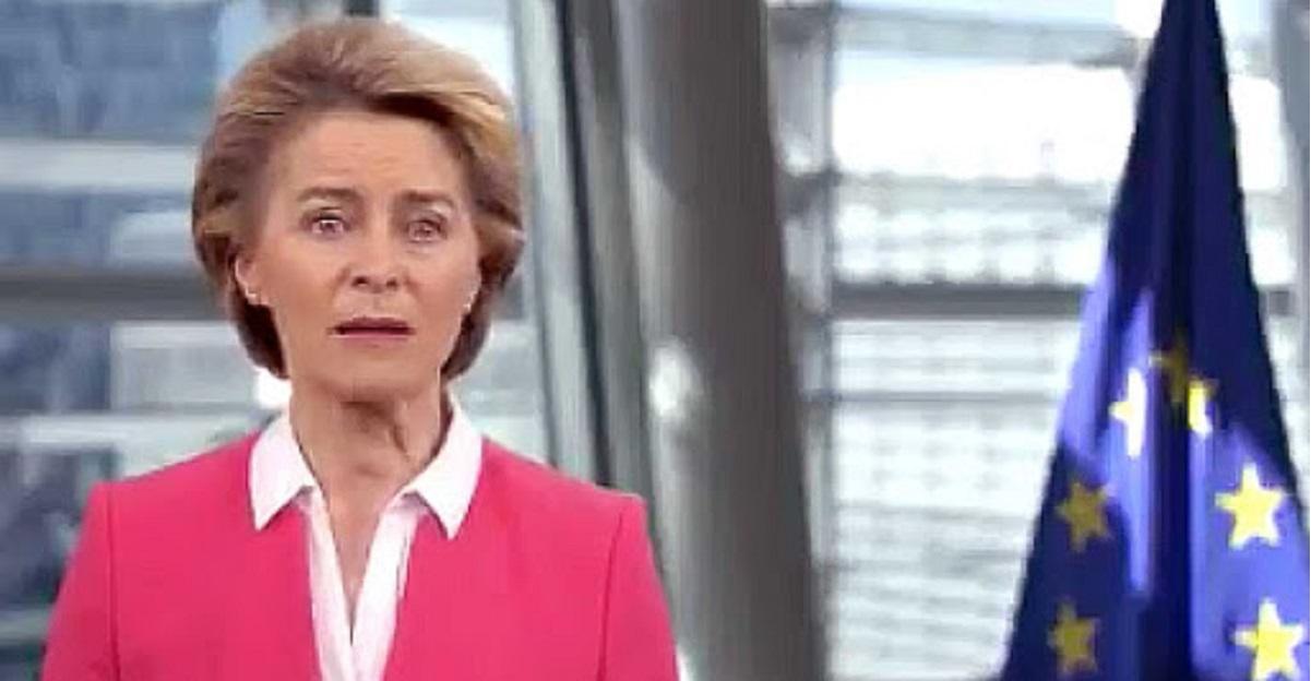 """Le lacrime di coccodrillo della Von Der Leyen: """"italiani vi chiedo scusa"""""""