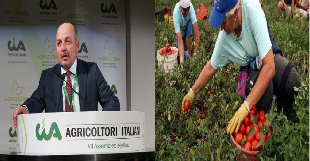 dino scanavino presidente cia agricoltori italiani