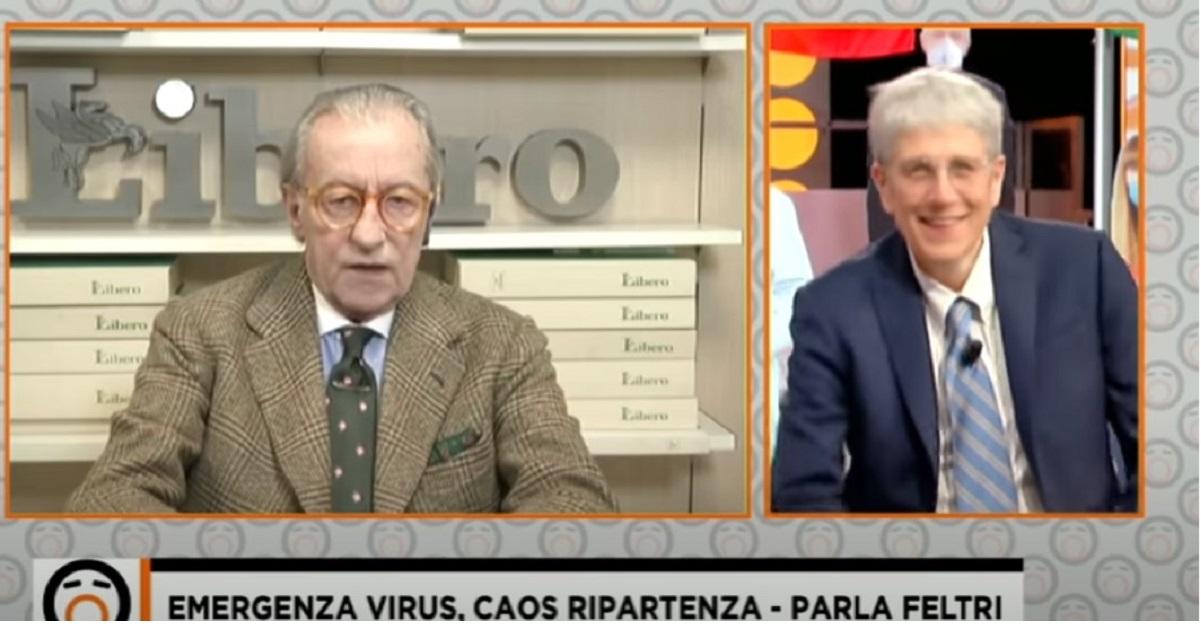 """Vittorio Feltri: """"i meridionali sono inferiori"""". E scatta la polemica"""