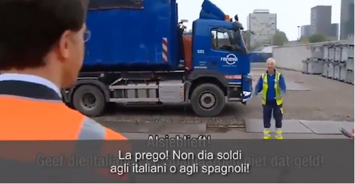 rutte olanda non daremo soldi a italiani