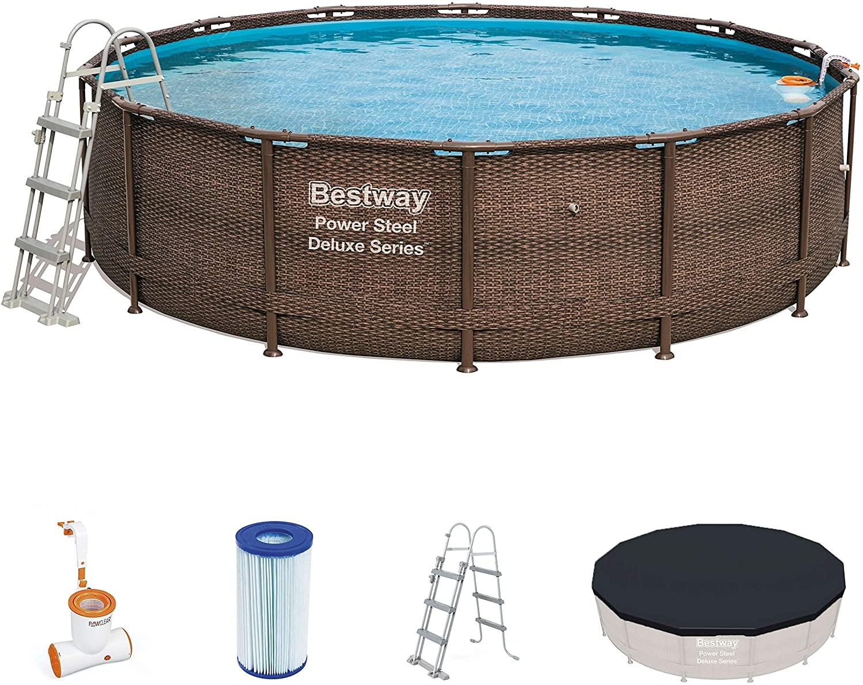 Bestway 56664 piscina fuori terra marrone
