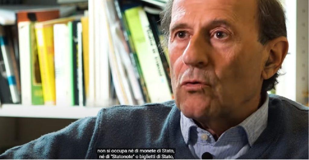 Nino Galloni creare statonote moneta di stato non a debito