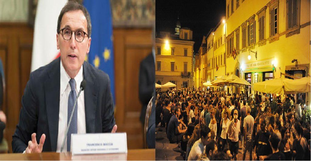 ministro francesco boccia riapertura regioni