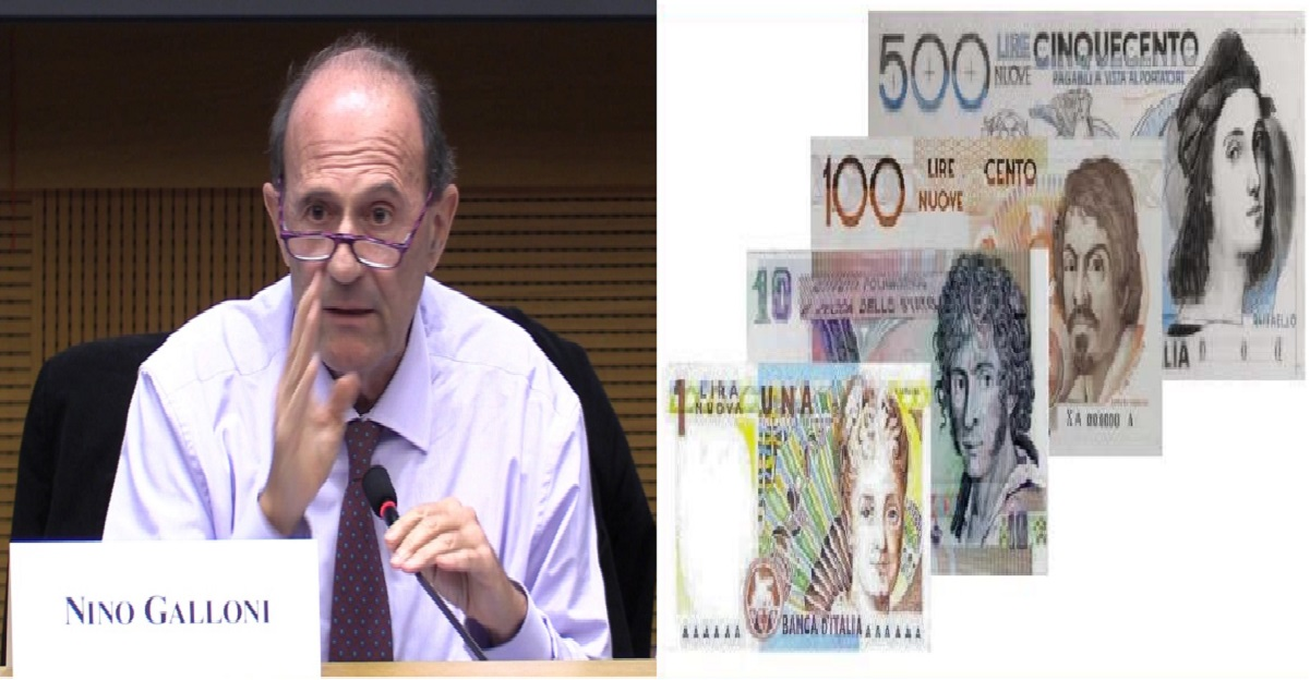 nino galloni stampare moneta parallela euro