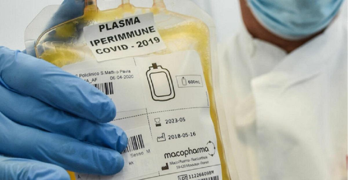 plasma iperimmune covid 19