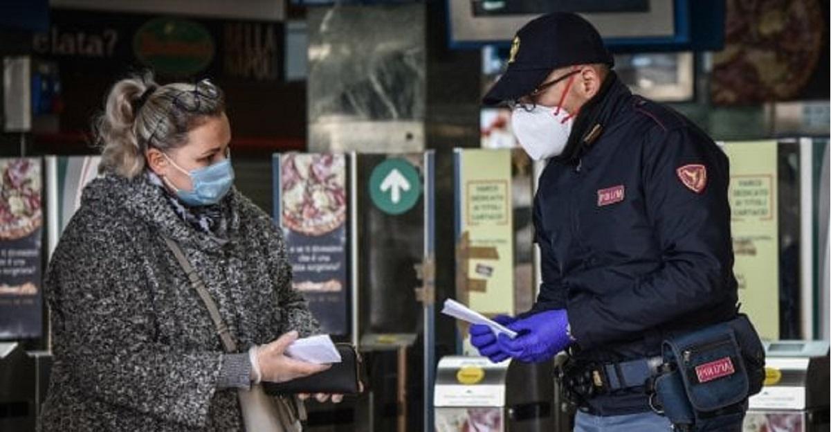 poliziotti stufi di perseguire italiani coronavirus