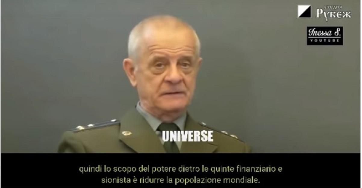 """Il colonnello Kvachkov: """"il coronavirus è una operazione terroristica per il controllo dell'umanita"""""""