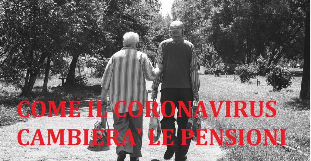 coronavirus pensioni più basse