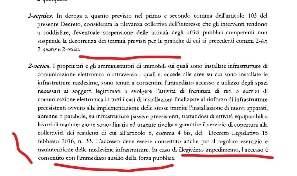 decreto cura italia 5g