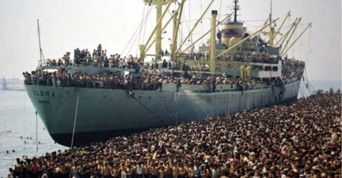 migranti Libia Italia