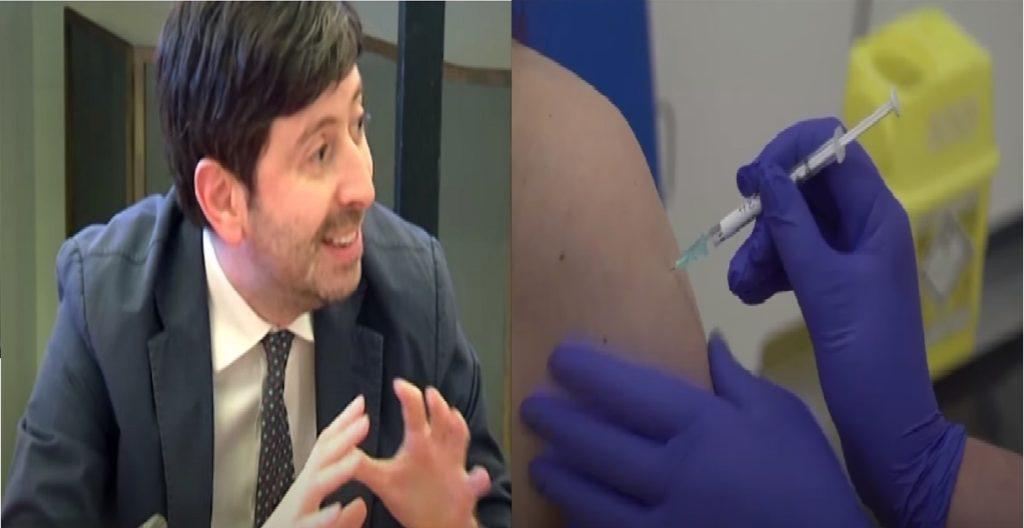 ministro Roberto Speranza vaccino coronavirus