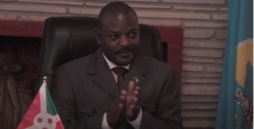 Presidente Burundi Pierre Nkurunziza