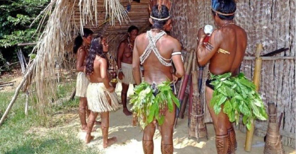 tribù amazzonia senza tempo