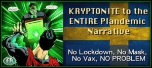 Kryptonite svezia coronavirus