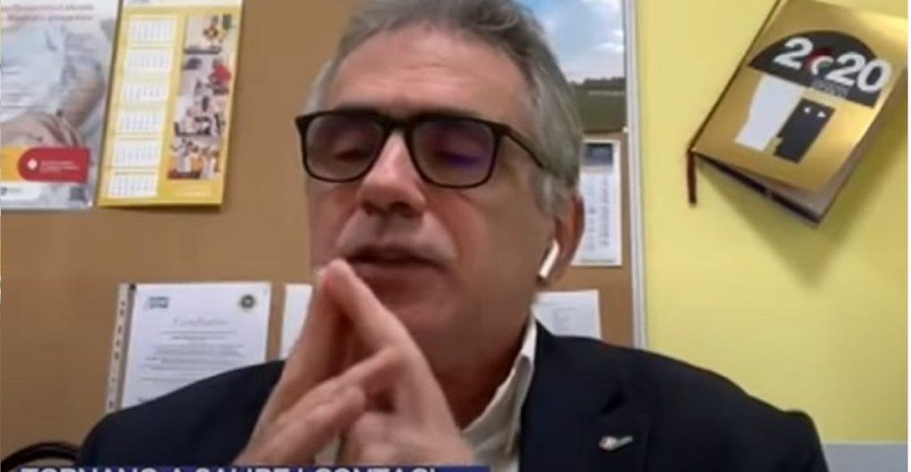 Fabrizio Pregliasco lockdown Natale