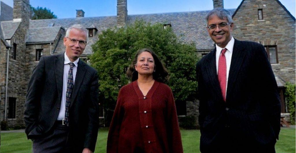 Martin Kulldorff(professore della Harvard University),Sunetra Gupta(professore a Oxford) e daJay Bhattacharya (prof. a Stanford)