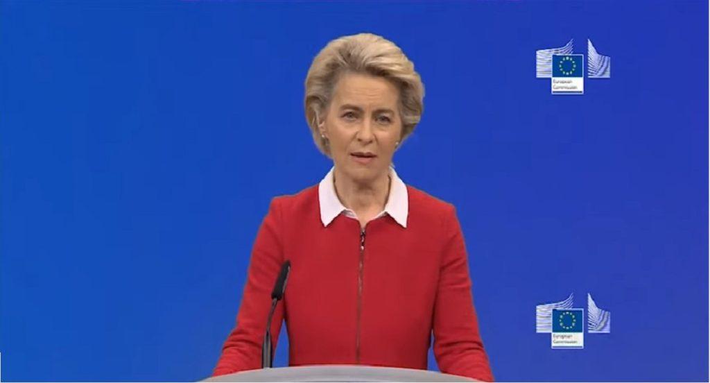 Ursula Von Der Leyen lockdown europeo