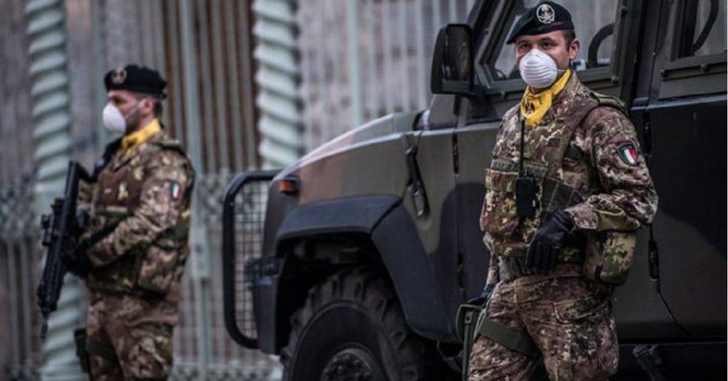 esercito in strada diego fusaro controllo norme anticontagio