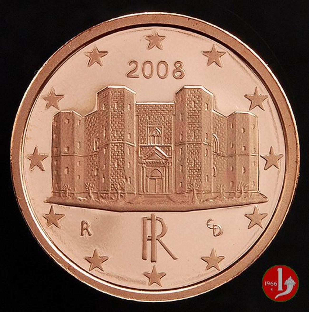 1 centesimo di euro Castel del Monte