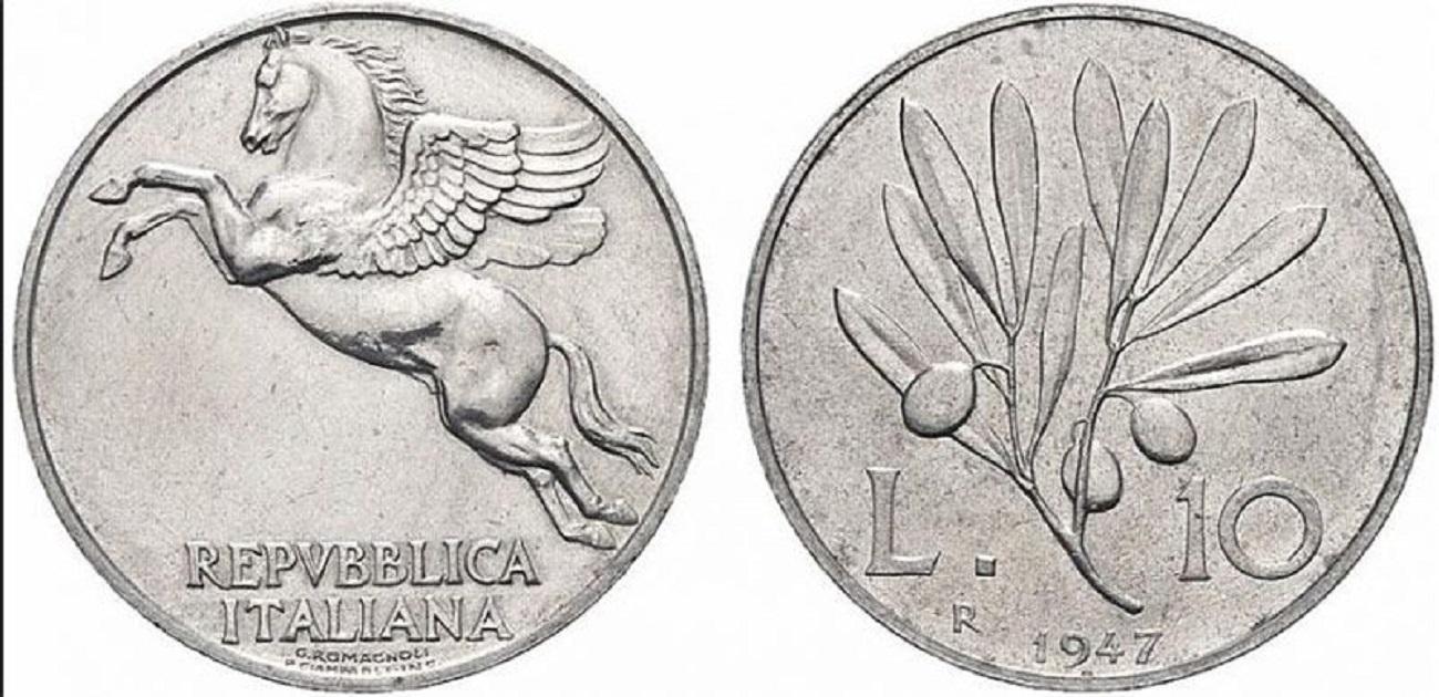 10 lire 1947