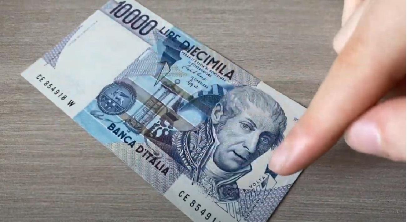 10000 lire rare Alessandro Volta valore