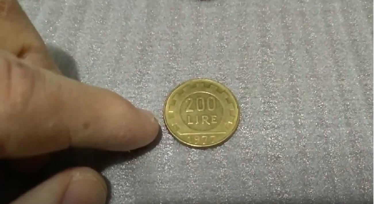 Le vecchie monete da 200 lire rare che valgono una fortuna