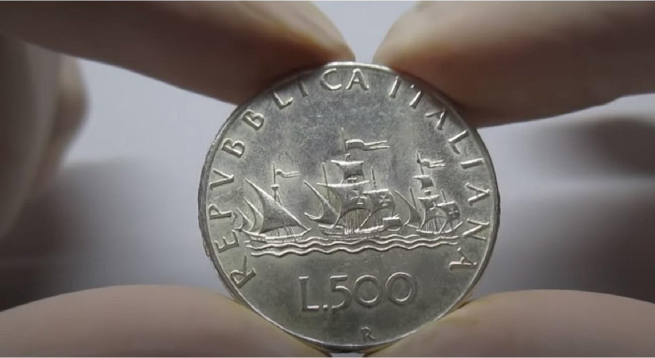 Le vecchie monete da 500 lire rare che valgono fino a 8000€