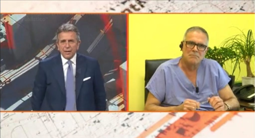Alberto Zangrillo attacca la stampa al tg4 sul coronavirus