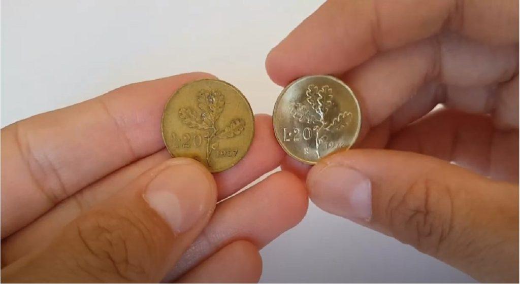 lira italiana 20 lire rare valore