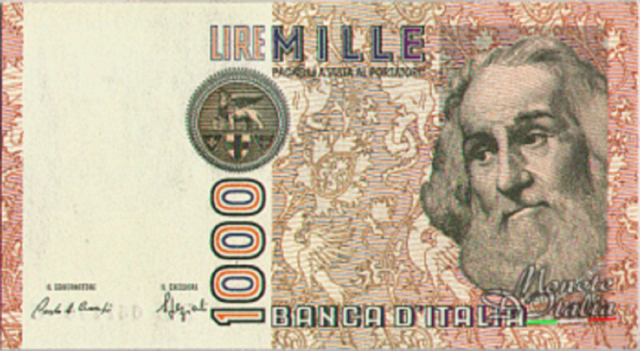mille lire marco polo