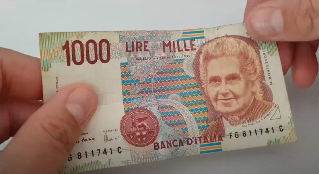 mille lire rare valore