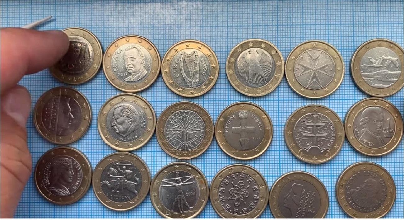 monete 1 euro rari