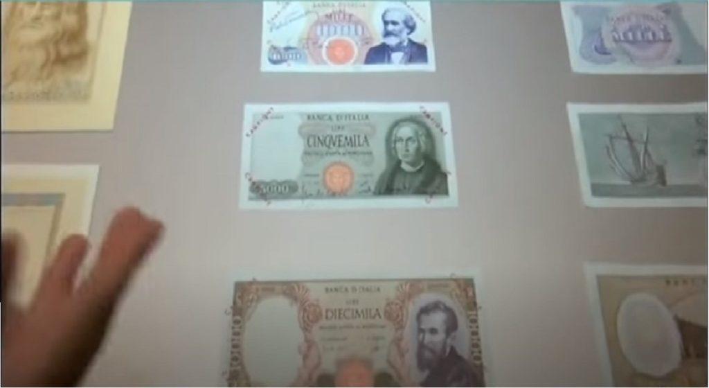 banconota museo