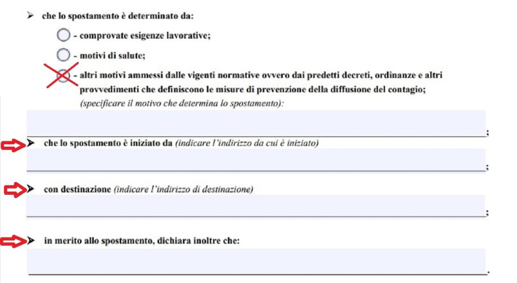 dichiarazione sostitutiva di certificazione pranzo di Natale