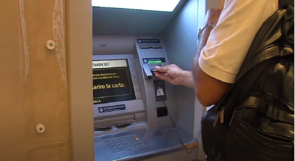 Commissioni prelievi sportello automatico Bancomat