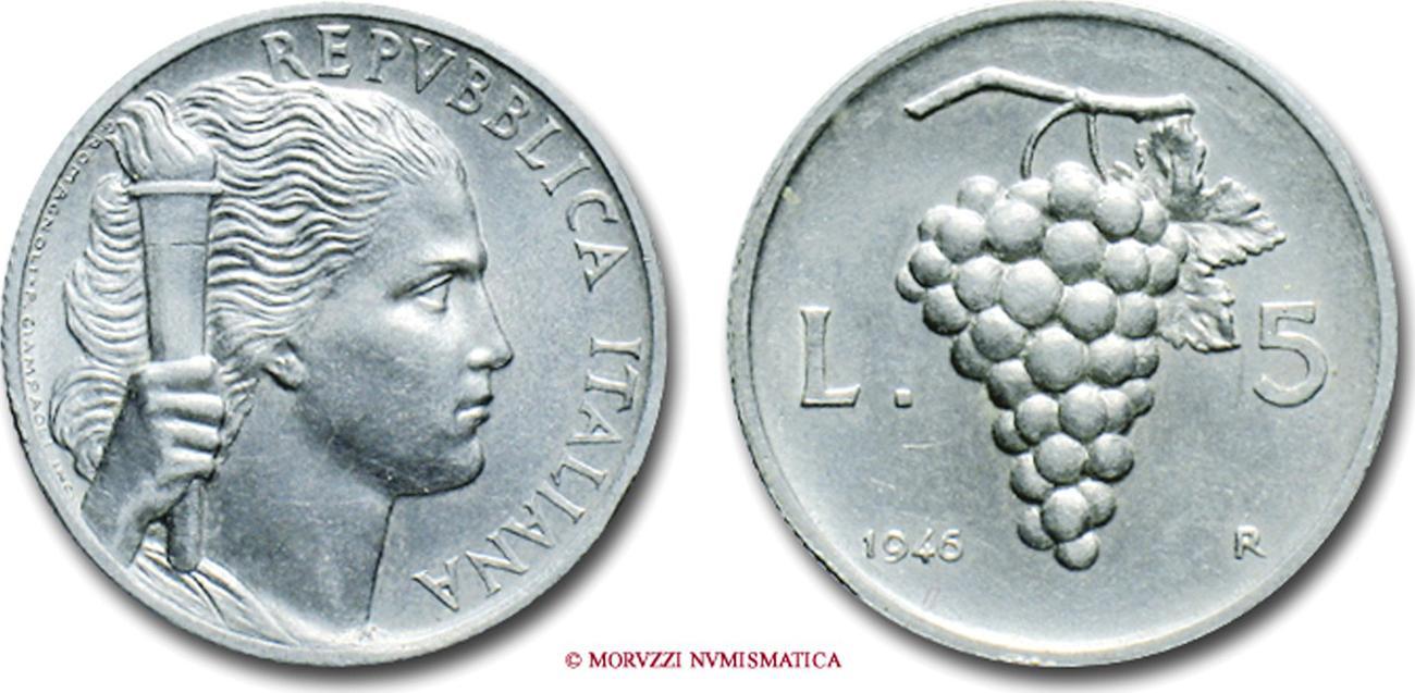 5 lire 1946
