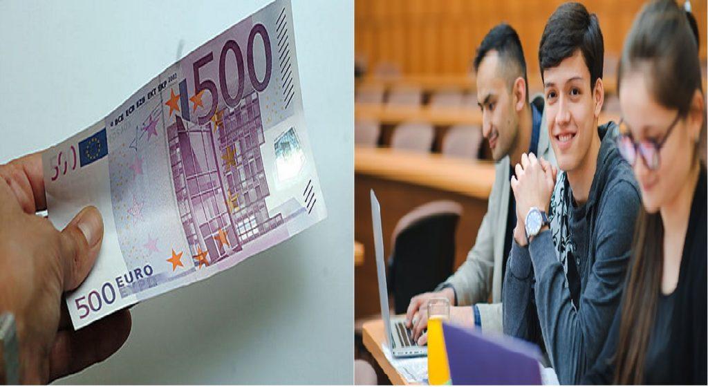 Banconota da 500 euro - bonus cultura