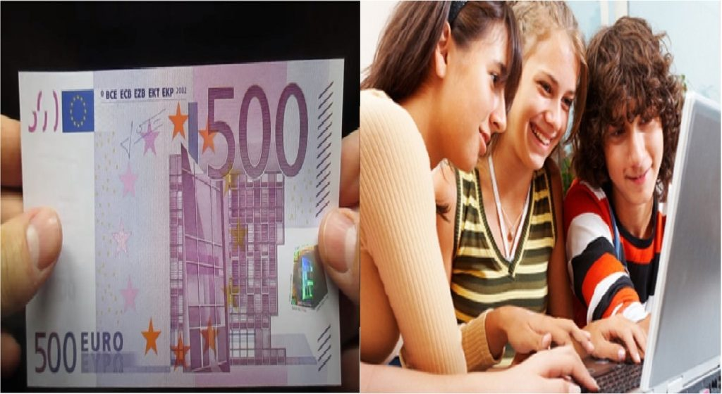 Banconota da 500 euro - bonus cultura 2021
