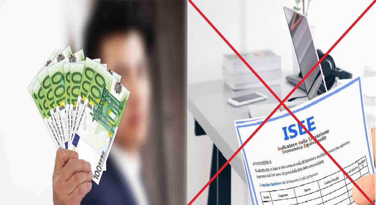 Bonus da 3000 euro senza ISEE