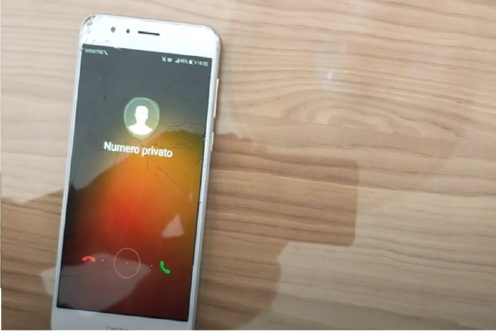 Chiamata con numero anonimo privato