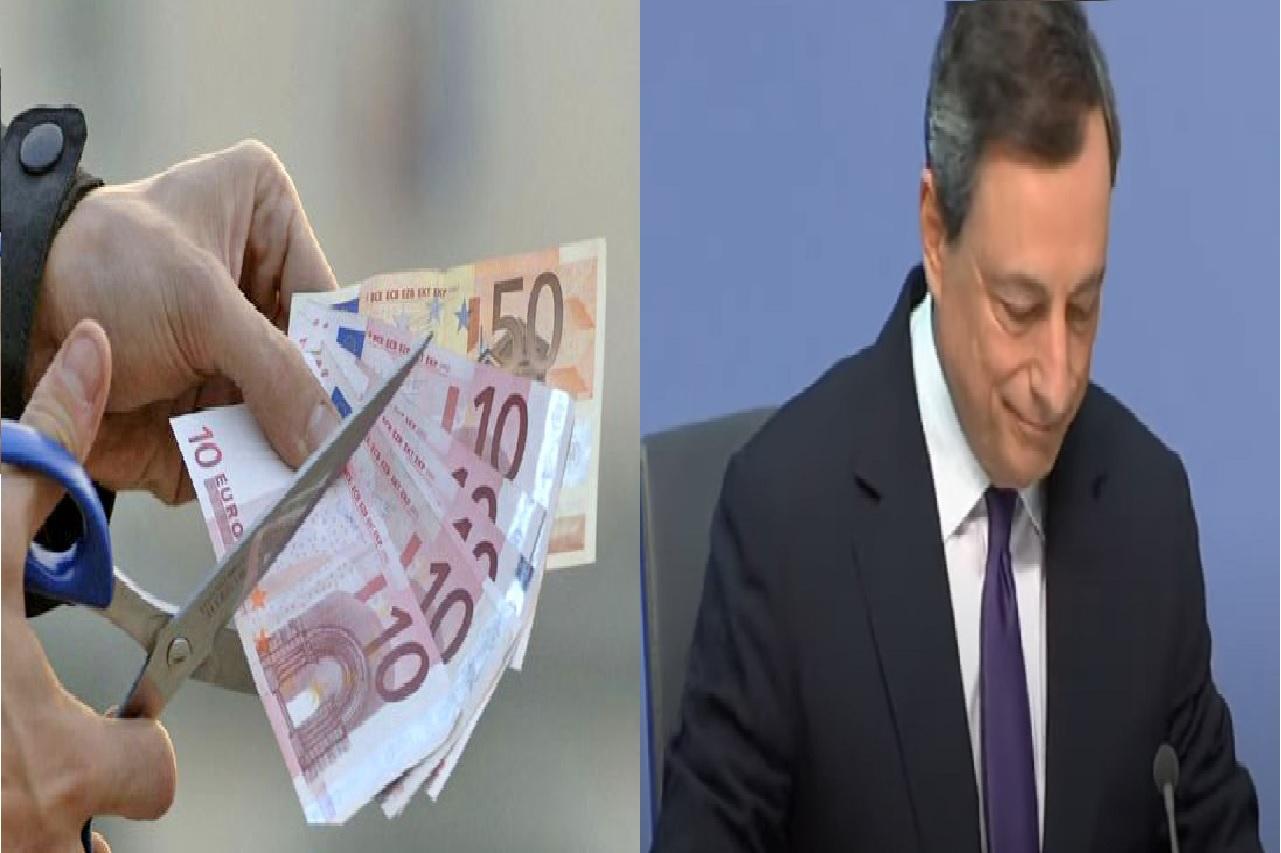 Mario Draghi cancella bonus