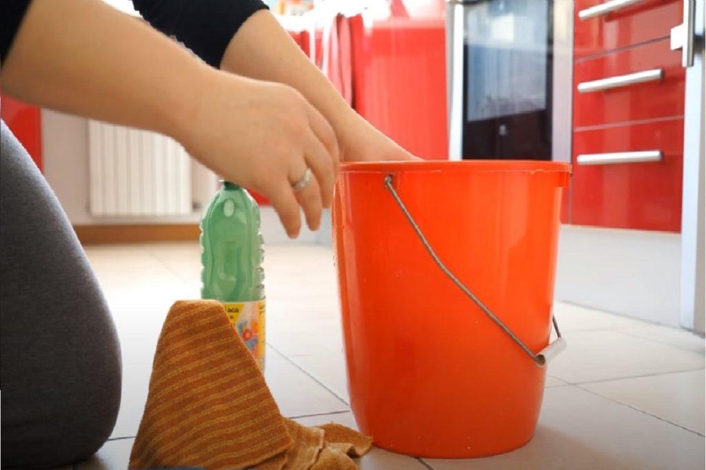 casalinga al lavoro