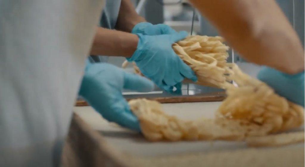 Produzione pasta Conad